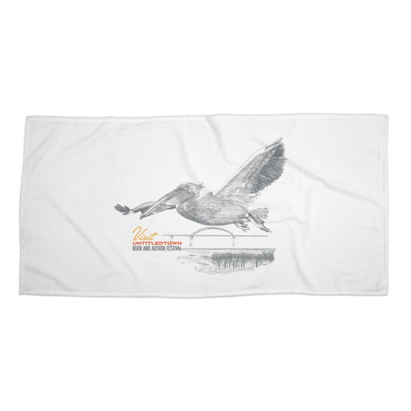 The Pelican Accessories Beach Towel by UntitledTown Store