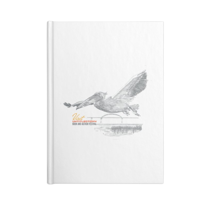 The Pelican Accessories Blank Journal Notebook by UntitledTown Store