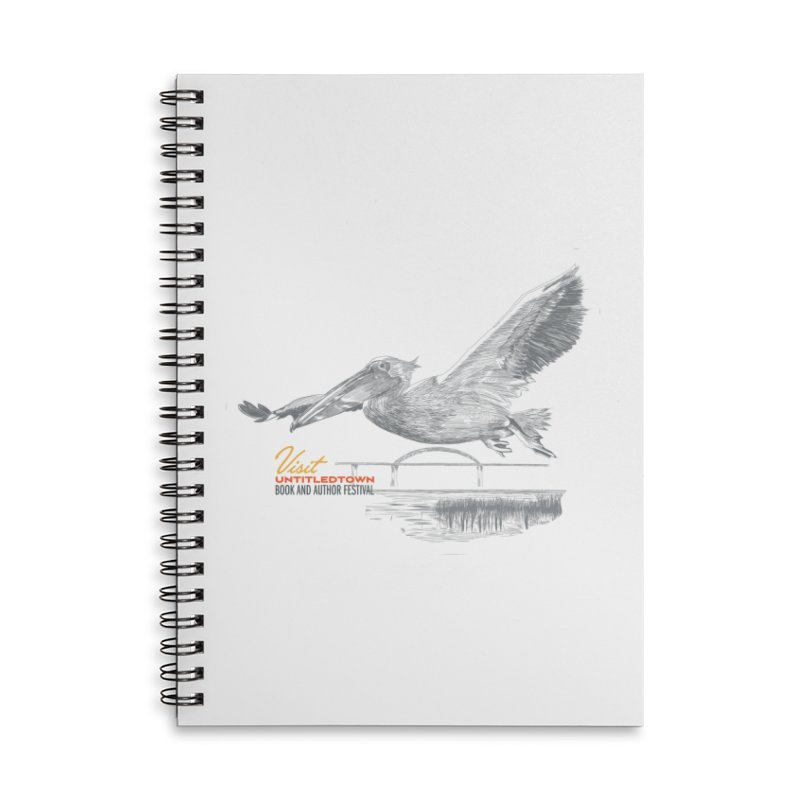 The Pelican Accessories Lined Spiral Notebook by UntitledTown Store