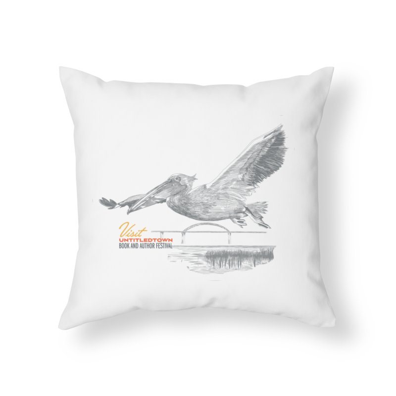 The Pelican Home Throw Pillow by UntitledTown Store