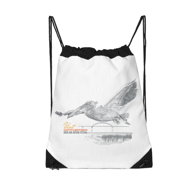 The Pelican Accessories Drawstring Bag Bag by UntitledTown Store