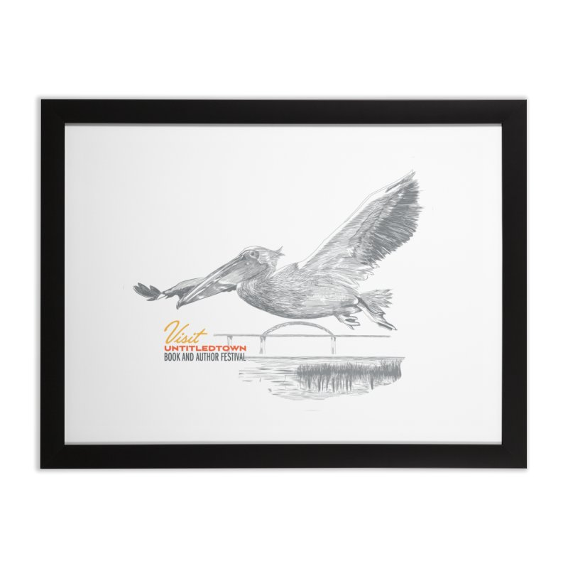 The Pelican Home Framed Fine Art Print by UntitledTown Store