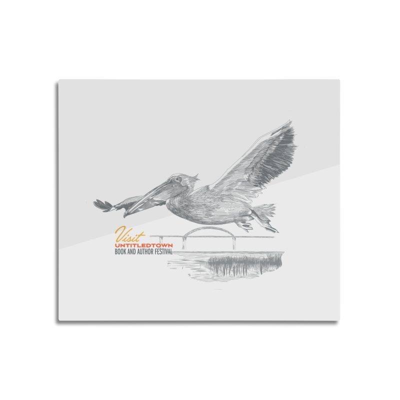 The Pelican Home Mounted Aluminum Print by UntitledTown Store