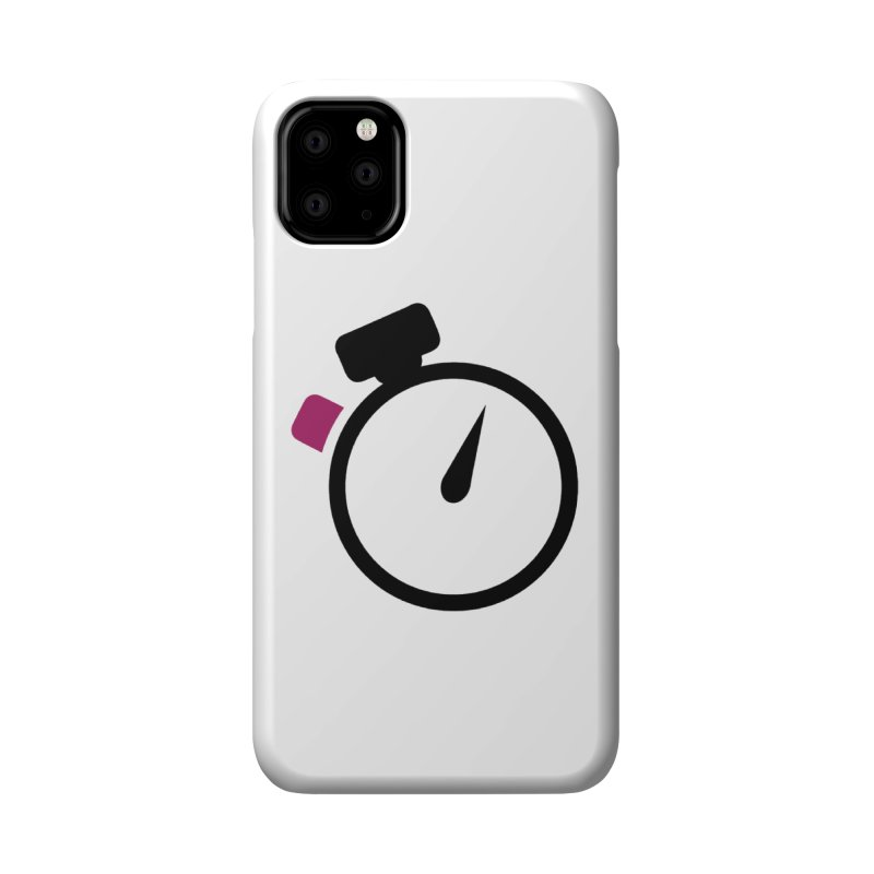 Unusual Efforts Stopwatch Logo Accessories Phone Case by Unusual Efforts Merchandise and Prints