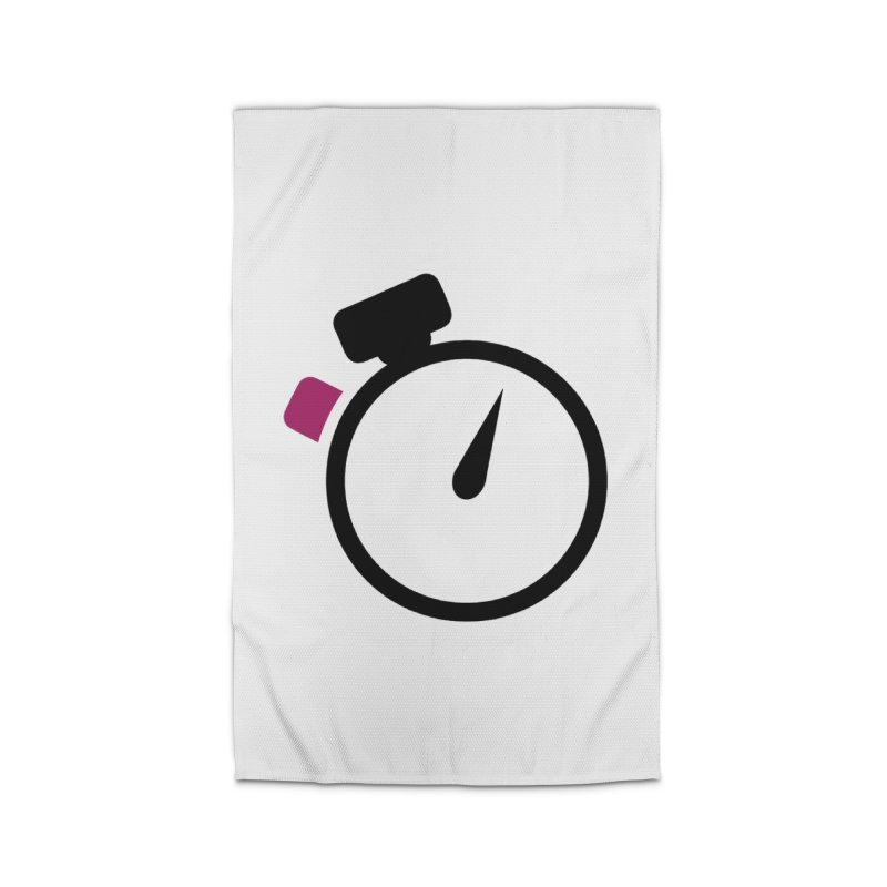 Unusual Efforts Stopwatch Logo Home Rug by Unusual Efforts Merchandise and Prints