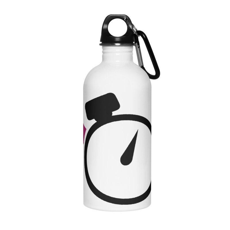 Unusual Efforts Stopwatch Logo Accessories Water Bottle by Unusual Efforts Merchandise and Prints