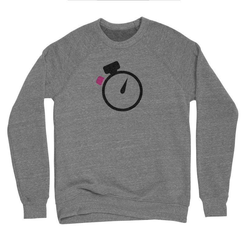 Unusual Efforts Stopwatch Logo Men's Sponge Fleece Sweatshirt by Unusual Efforts Merchandise and Prints