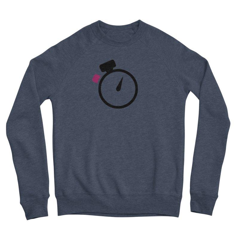 Unusual Efforts Stopwatch Logo Women's Sponge Fleece Sweatshirt by Unusual Efforts Merchandise and Prints