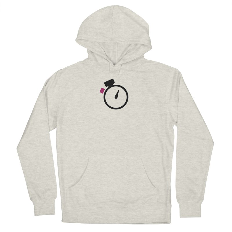 Unusual Efforts Stopwatch Logo Men's French Terry Pullover Hoody by Unusual Efforts Merchandise and Prints