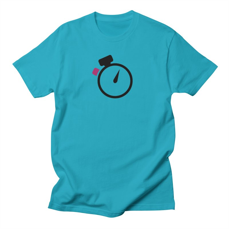 Unusual Efforts Stopwatch Logo Women's Regular Unisex T-Shirt by Unusual Efforts Merchandise and Prints