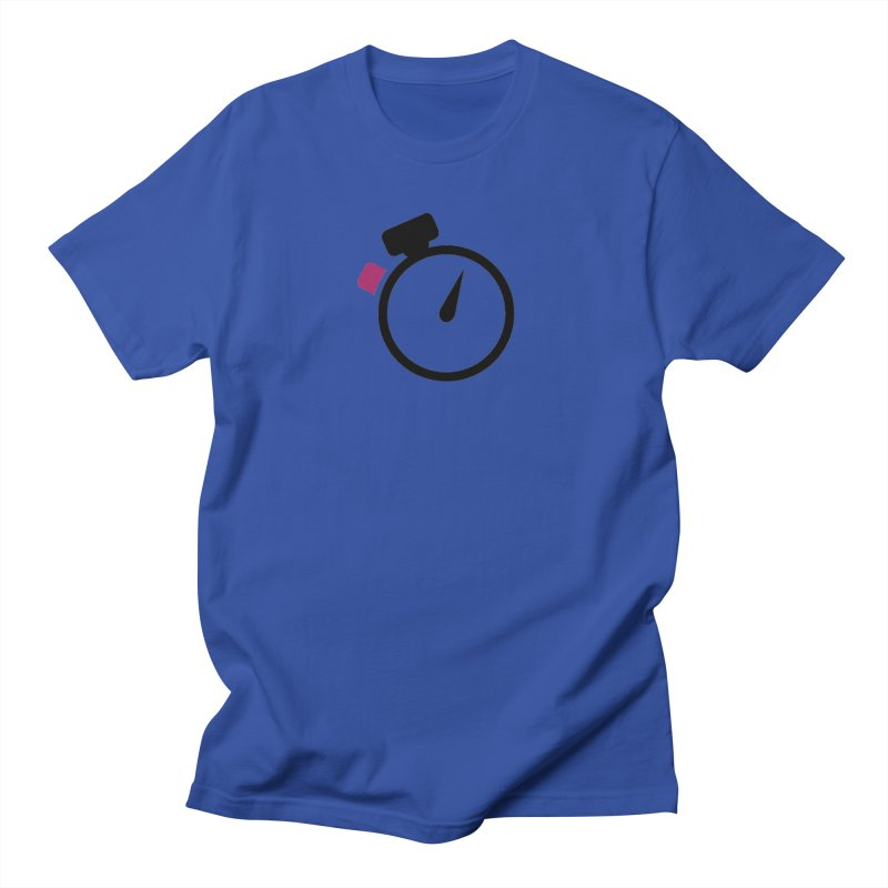 Unusual Efforts Stopwatch Logo Men's Regular T-Shirt by Unusual Efforts Merchandise and Prints