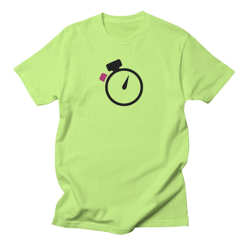Unusual Efforts Stopwatch Logo Men's Regular T-Shirt by Unusual Efforts Merchandise and Prints