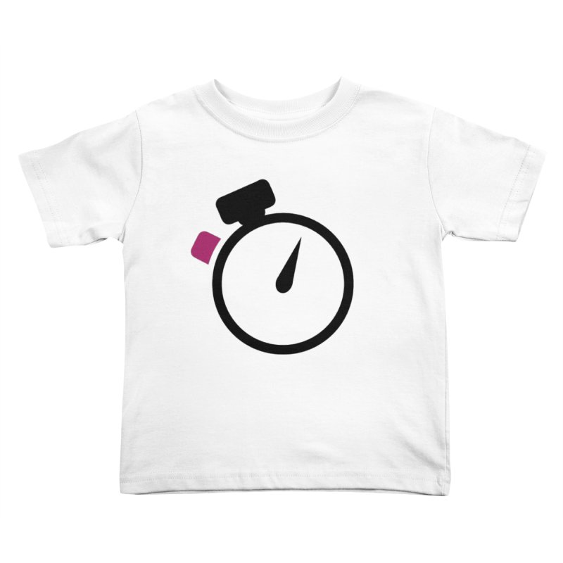 Unusual Efforts Stopwatch Logo Kids Toddler T-Shirt by Unusual Efforts Merchandise and Prints