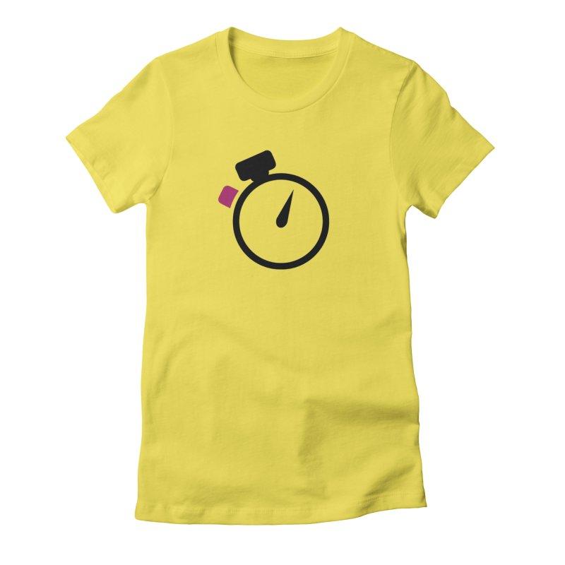 Unusual Efforts Stopwatch Logo Women's T-Shirt by Unusual Efforts Merchandise and Prints