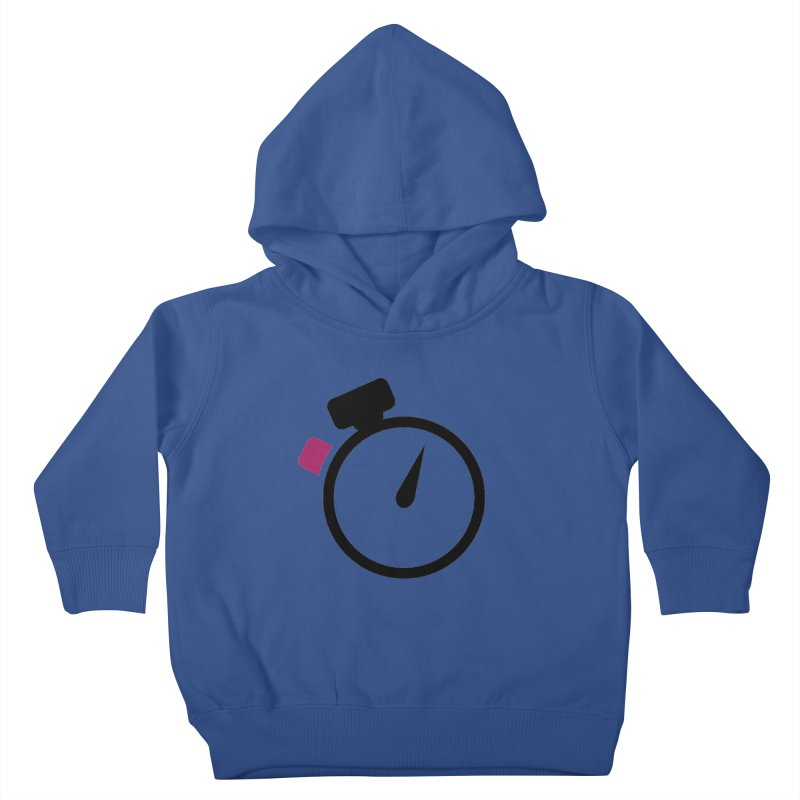 Unusual Efforts Stopwatch Logo Kids Toddler Pullover Hoody by Unusual Efforts Merchandise and Prints