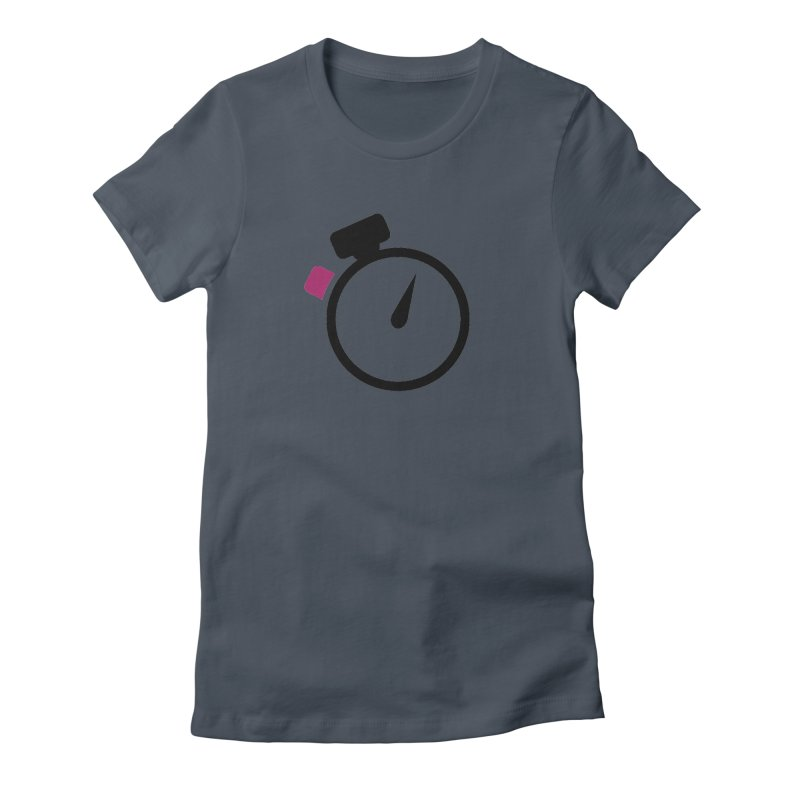 Unusual Efforts Stopwatch Logo Women's T-Shirt by Unusual Efforts Merchandise and Prints