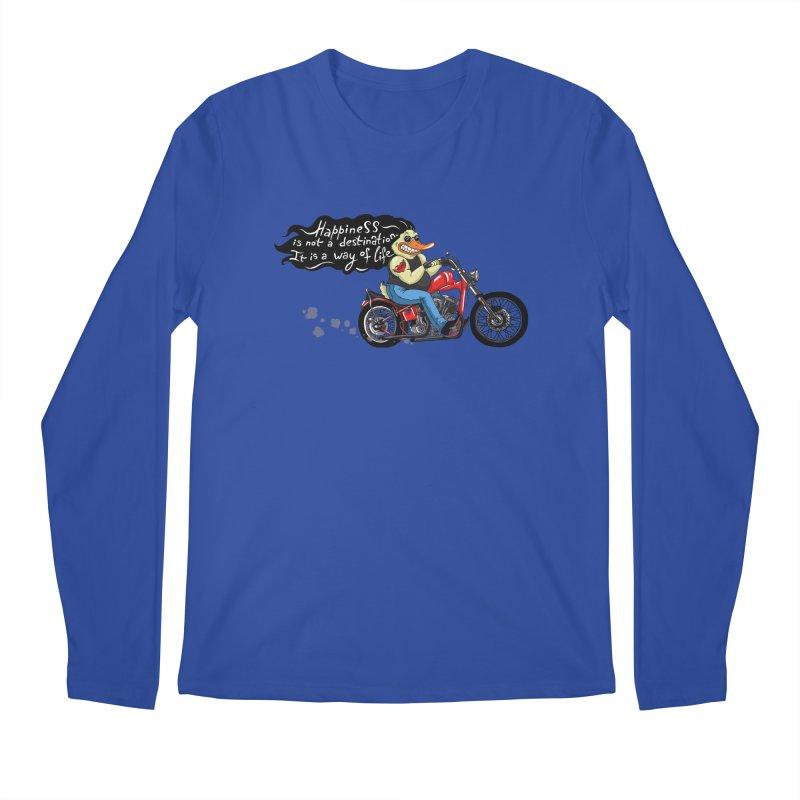 Happiness Men's Longsleeve T-Shirt by Universe Postoffice