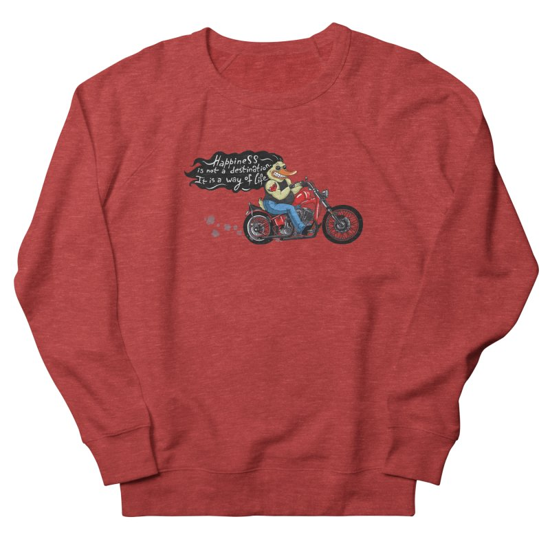 Happiness Men's Sweatshirt by Universe Postoffice