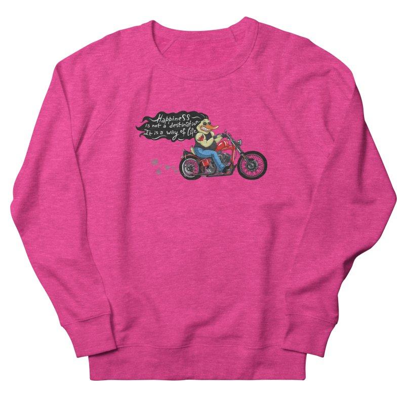 Happiness Men's Sweatshirt by Universe Postoffice