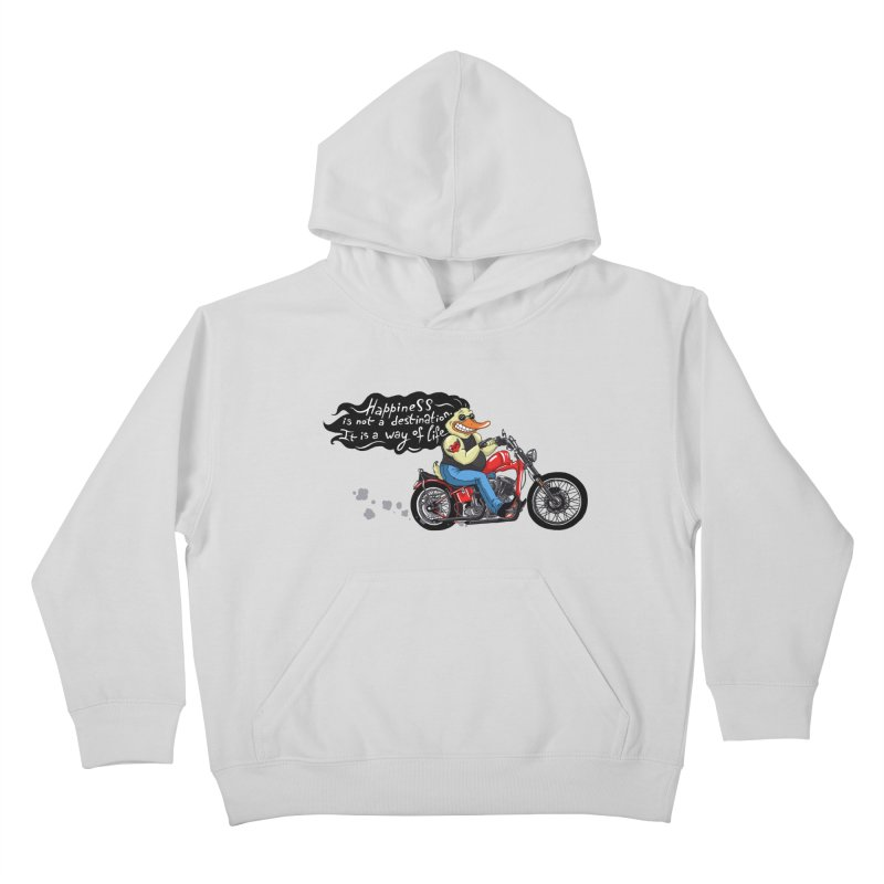 Happiness Kids Pullover Hoody by Universe Postoffice