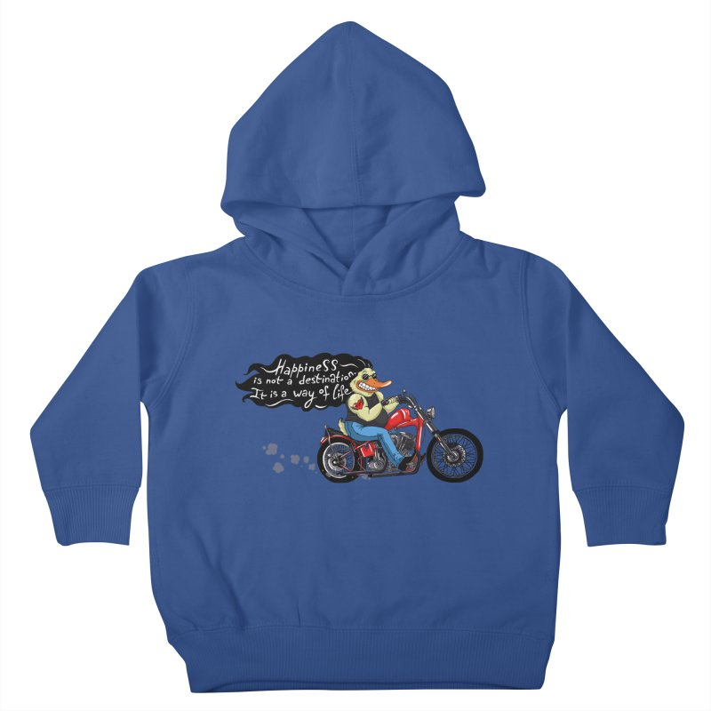 Happiness Kids Toddler Pullover Hoody by Universe Postoffice
