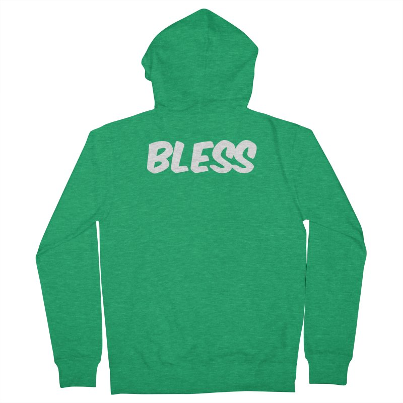 BLESS Men's Zip-Up Hoody by uppercaseCHASE1
