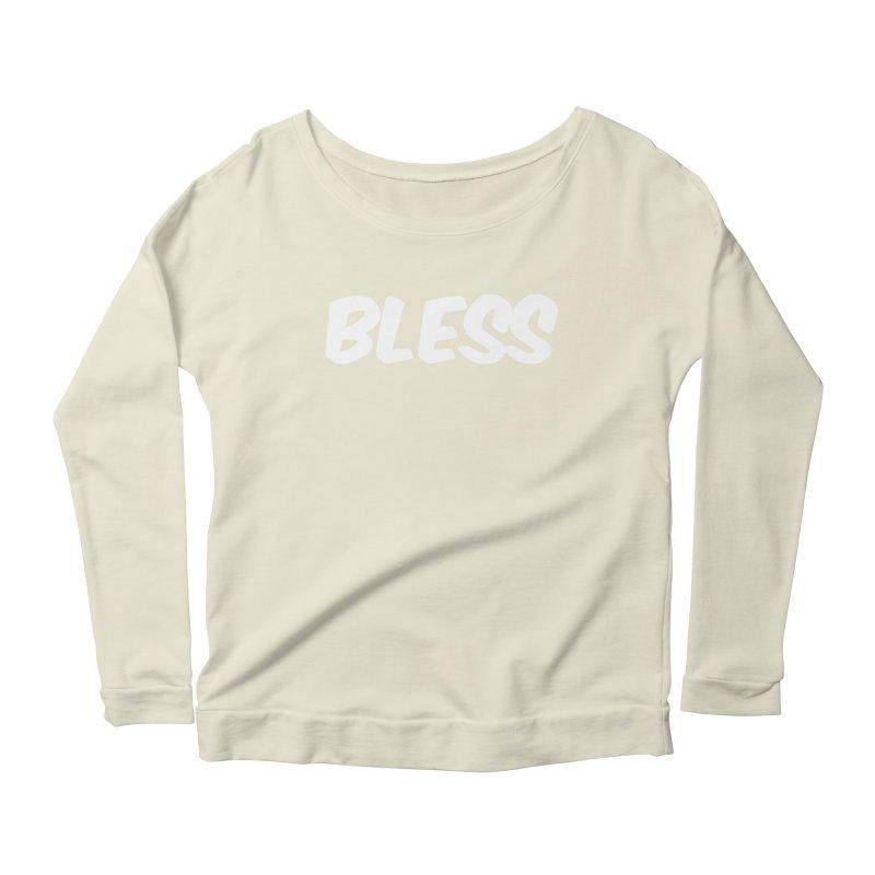 BLESS Women's Scoop Neck Longsleeve T-Shirt by uppercaseCHASE1