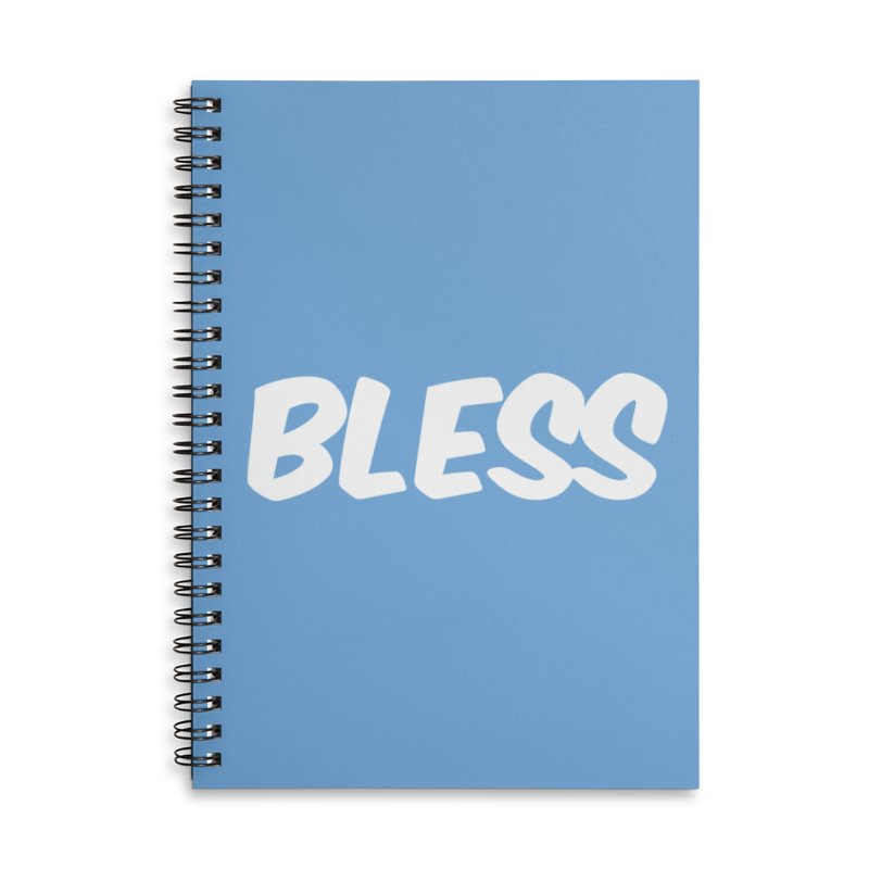 BLESS Accessories Lined Spiral Notebook by uppercaseCHASE1