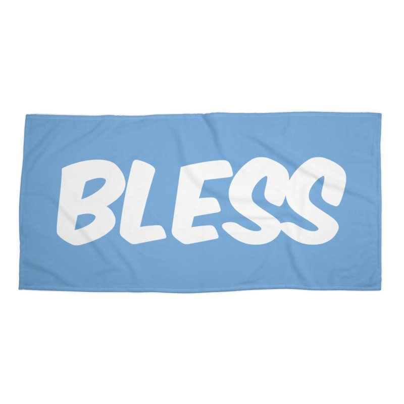 BLESS Accessories Beach Towel by uppercaseCHASE1