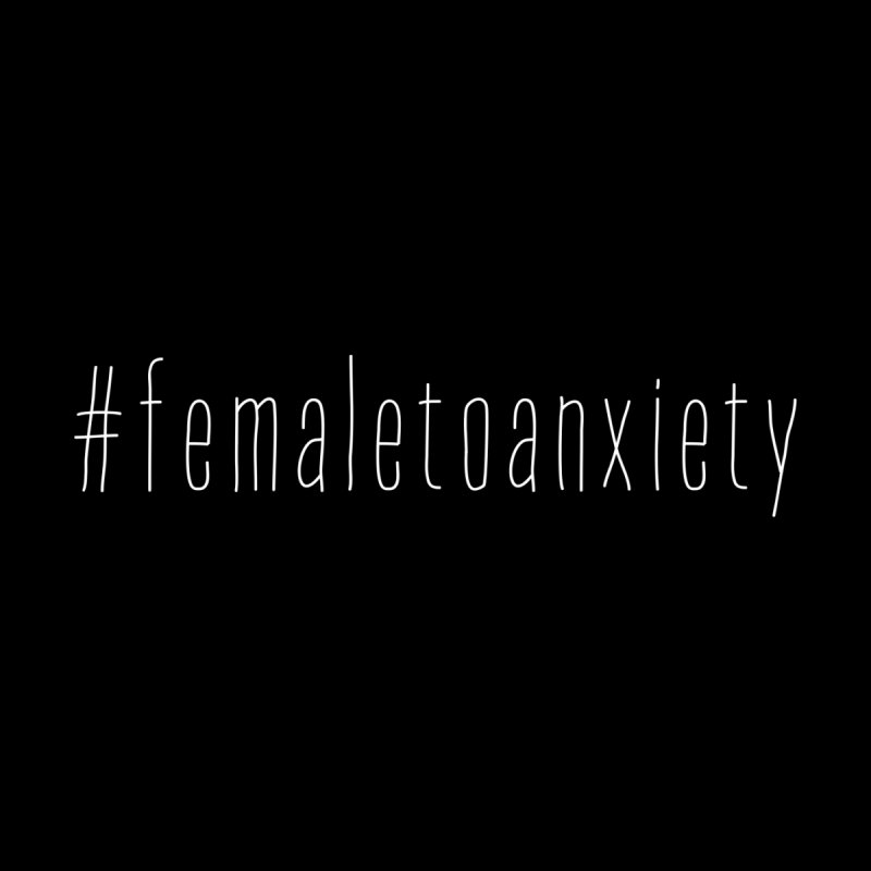 #femaletoanxiety  Home Throw Pillow by uppercaseCHASE1