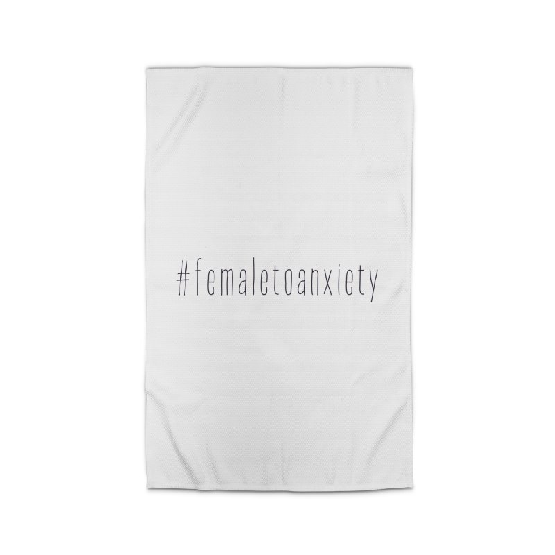 #femaletoanxiety  Home Rug by uppercaseCHASE1
