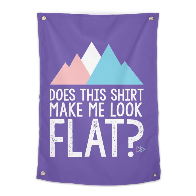 Does This Shirt Make Me Look Flat? (Original) Home Tapestry by uppercaseCHASE1