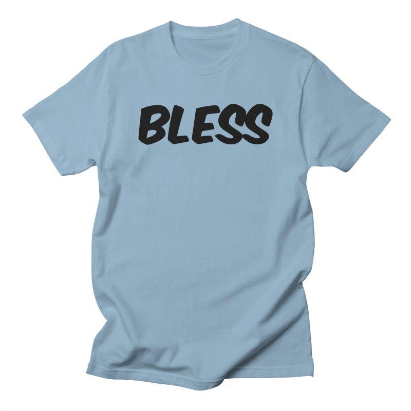 BLESS *Black Font* Men's T-Shirt by uppercaseCHASE1