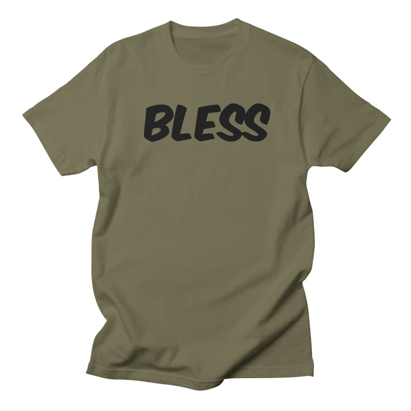 BLESS *Black Font* Men's T-Shirt by uppercaseCHASE1