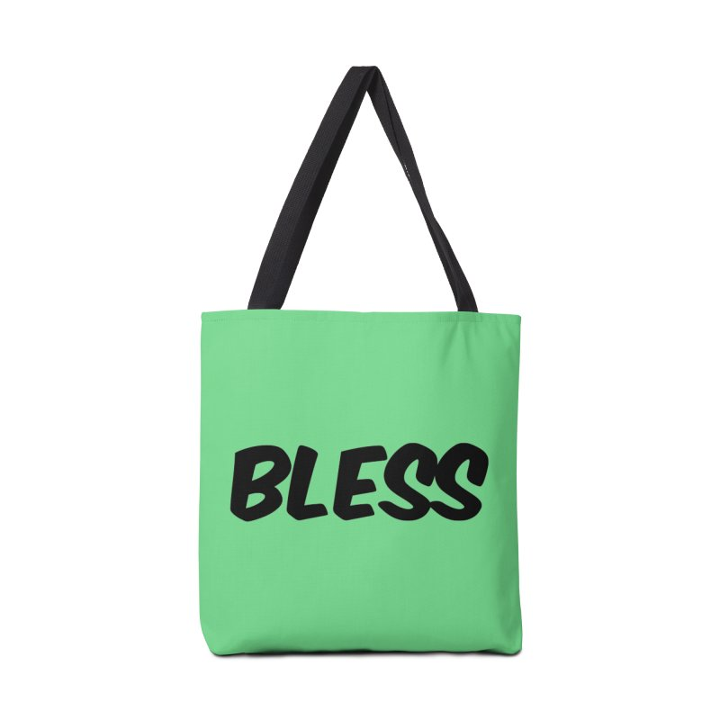 BLESS *Black Font* Accessories Tote Bag Bag by uppercaseCHASE1