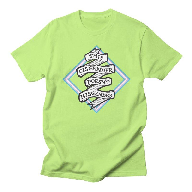 This Cisgender *Black Font* Men's T-Shirt by uppercaseCHASE1