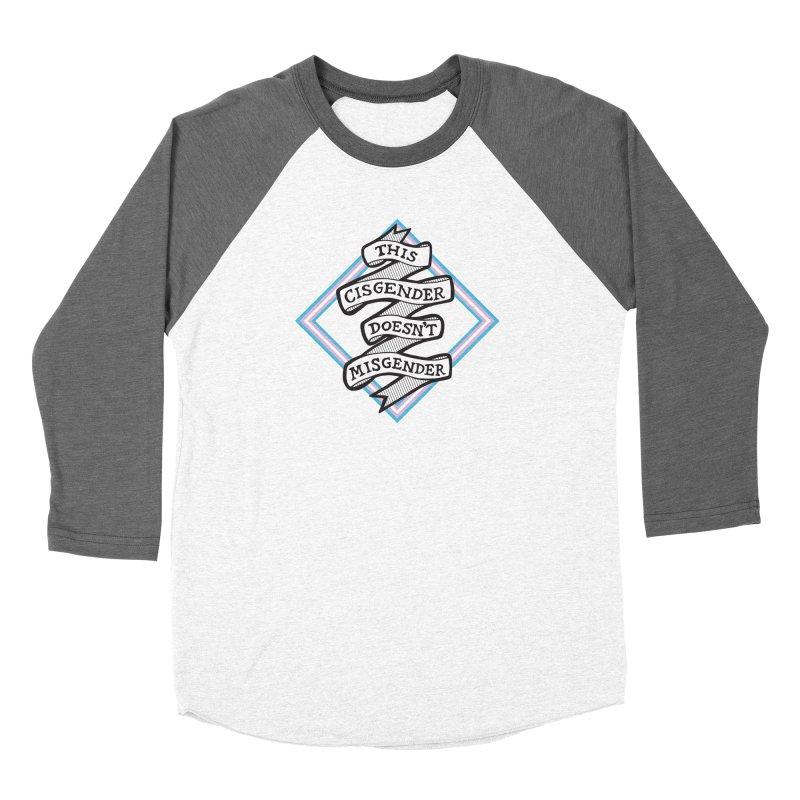 This Cisgender *Black Font* Women's Longsleeve T-Shirt by uppercaseCHASE1