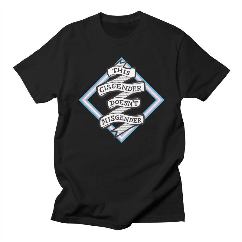 This Cisgender *Black Font* Women's Regular Unisex T-Shirt by uppercaseCHASE1