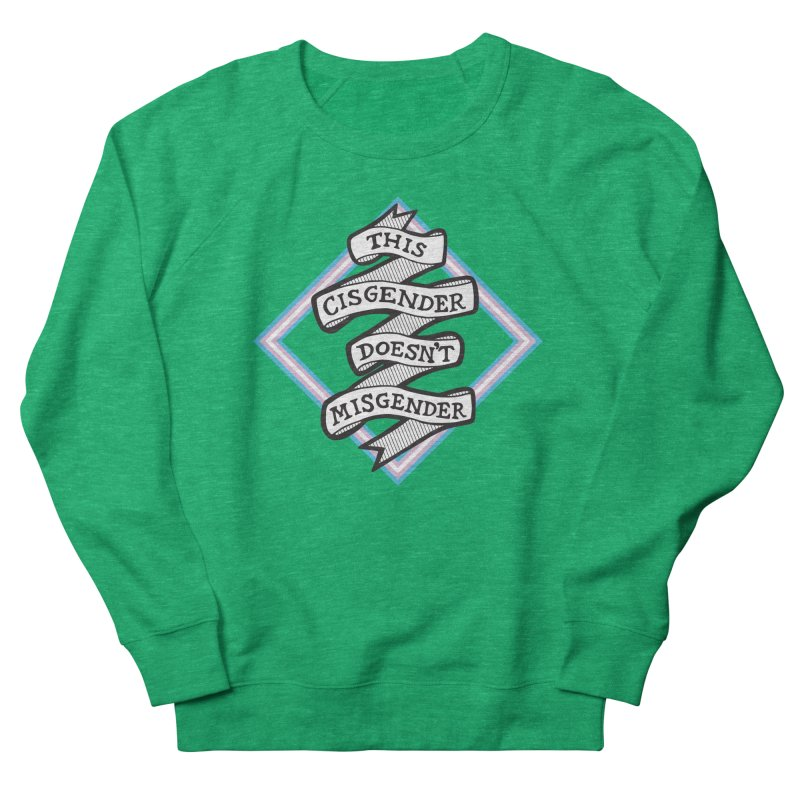 This Cisgender *Black Font* Women's Sweatshirt by uppercaseCHASE1