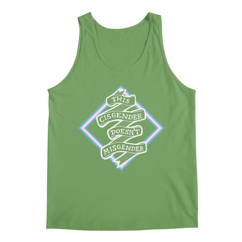 This Cisgender Doesn't Misgender Men's Tank by uppercaseCHASE1