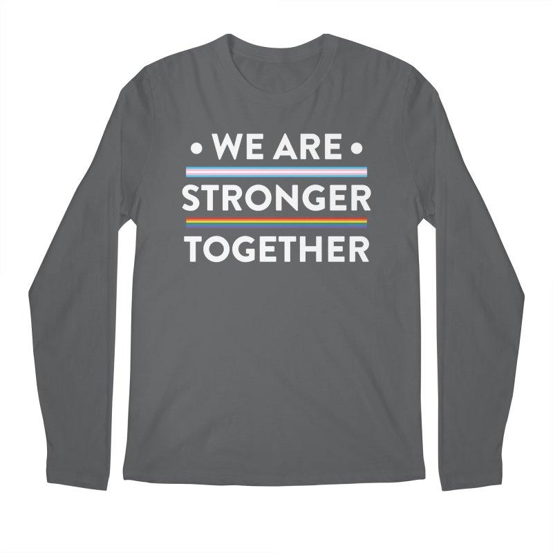 We Are Stronger Together Men's Regular Longsleeve T-Shirt by uppercaseCHASE1