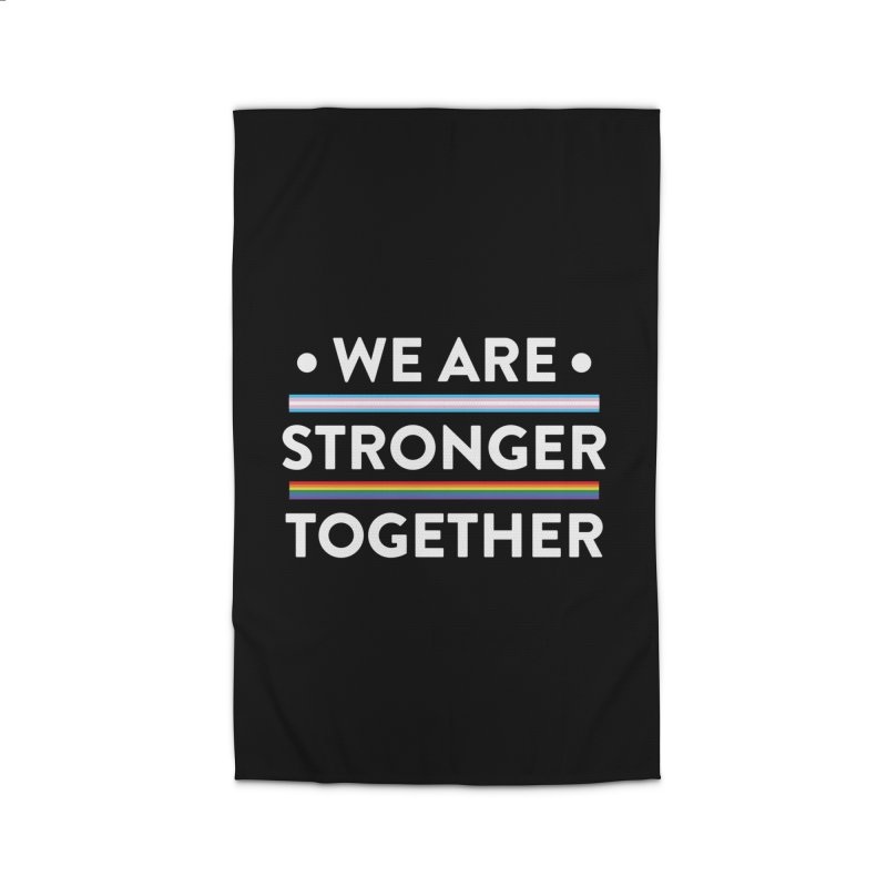 We Are Stronger Together Home Rug by uppercaseCHASE1