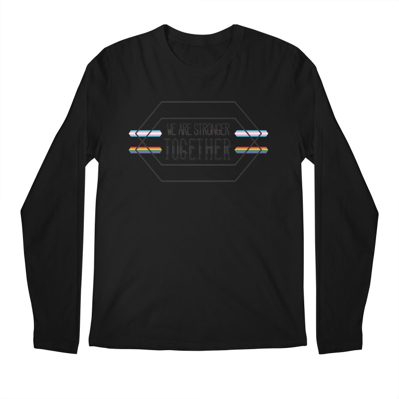 Stronger Together Men's Regular Longsleeve T-Shirt by uppercaseCHASE1