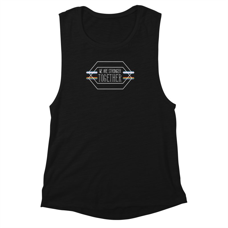 Stronger Together Shapes  Women's Tank by uppercaseCHASE1