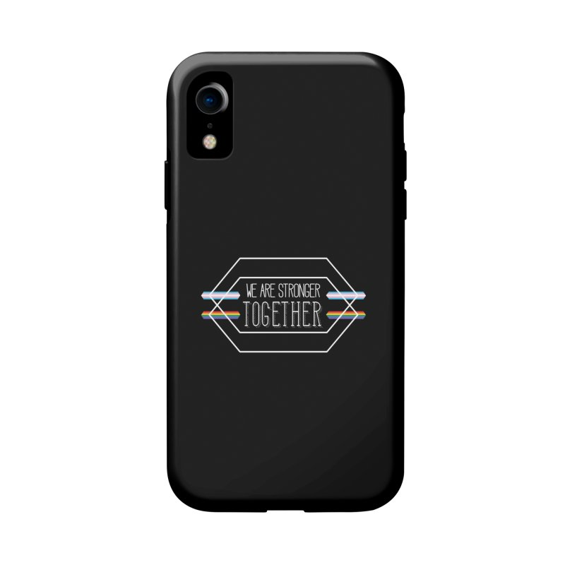Stronger Together Shapes  Accessories Phone Case by uppercaseCHASE1