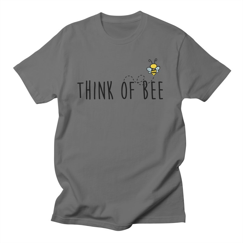 Think of Bee *Black* Men's T-Shirt by uppercaseCHASE1