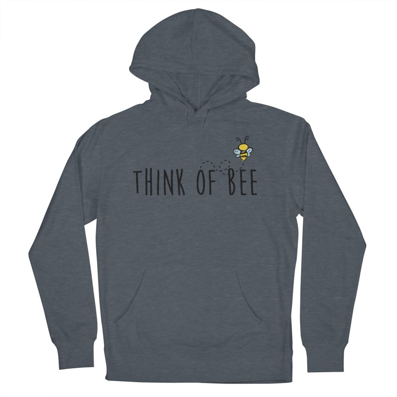 Think of Bee *Black* Men's Pullover Hoody by uppercaseCHASE1