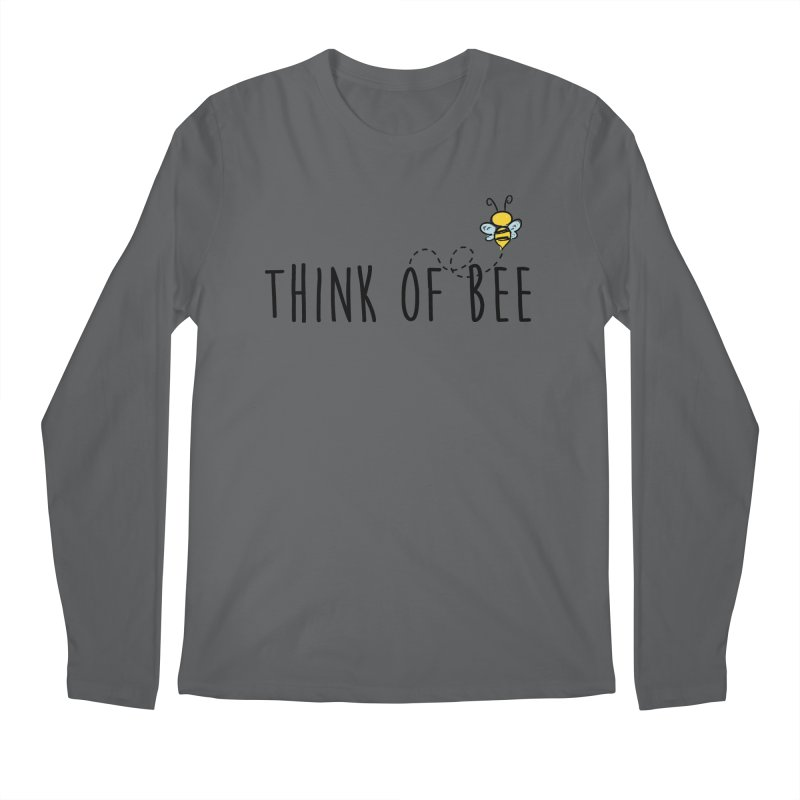 Think of Bee *Black* Men's Regular Longsleeve T-Shirt by uppercaseCHASE1