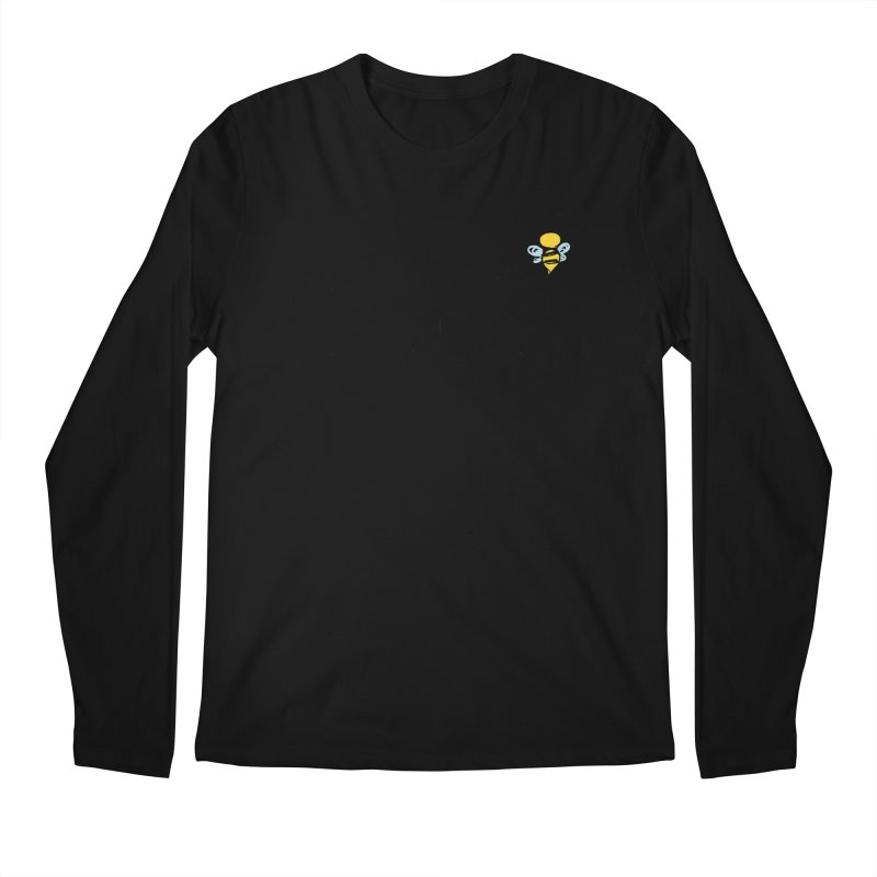 Think of Bee *Black* Men's Longsleeve T-Shirt by uppercaseCHASE1
