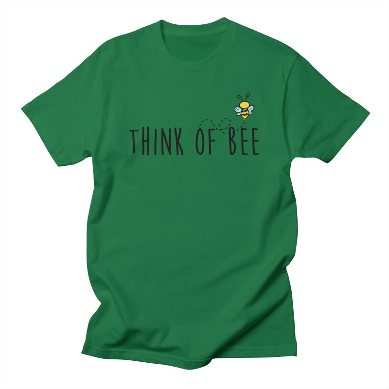 Think of Bee *Black* Men's Regular T-Shirt by uppercaseCHASE1
